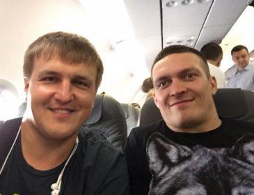 Усик вместе с соперником посмотрит матч Украина — Польша