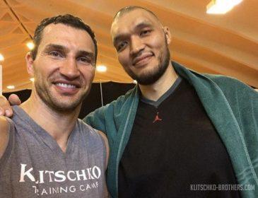 Фото дня: Владимир Кличко и Марат Джуманалиев