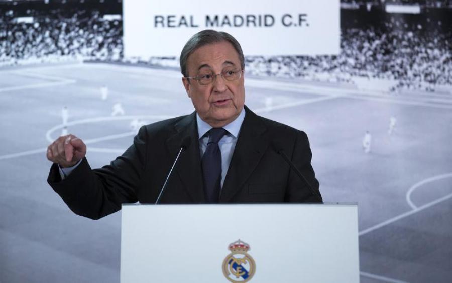 Реал переизбрал президента клуба