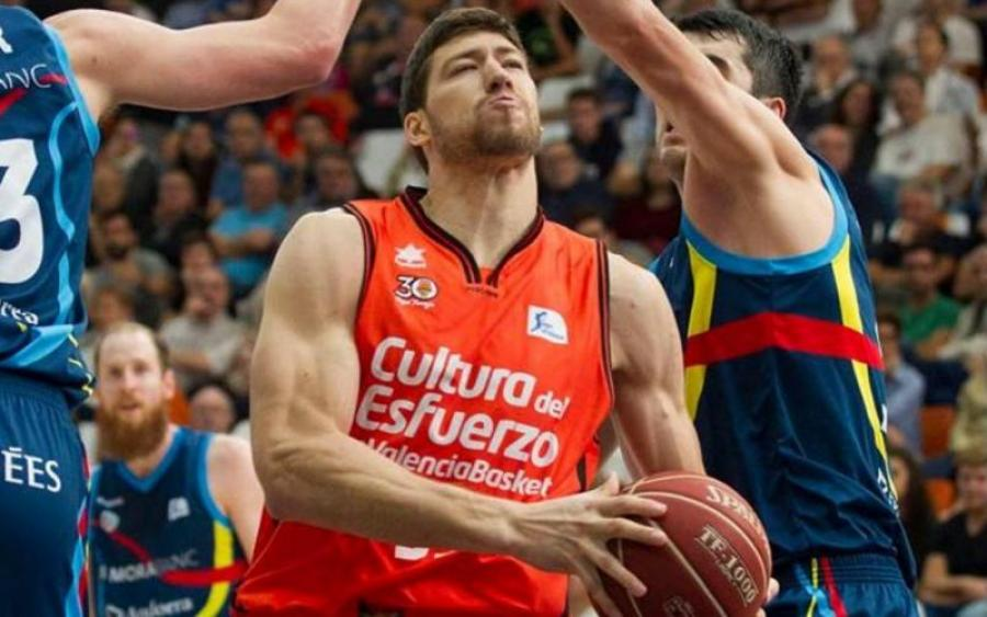 Украинский баскетболист стал чемпионом Испании