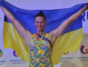 Украинка установила мировой рекорд на Всемирных играх