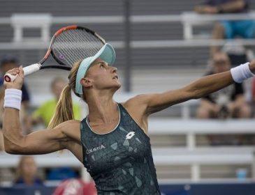 Украинка Цуренко вылетела на старте US Open