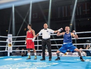 Украинец Хижняк выиграл чемпионат мира по боксу