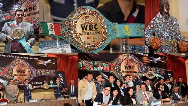 Супербой Головкин – Альварес: чемпионский пояс изготовили коренные жители Мексики