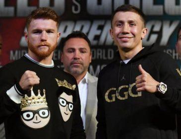 Головкин — Альварес: названы гонорары боксеров за бой