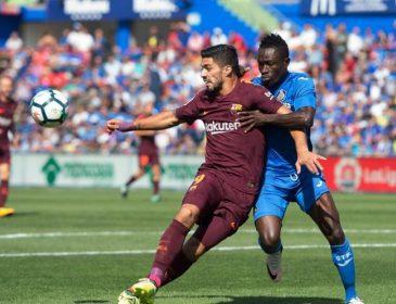 Чемпионат Испании Барселона с трудом выиграла в Хетафе