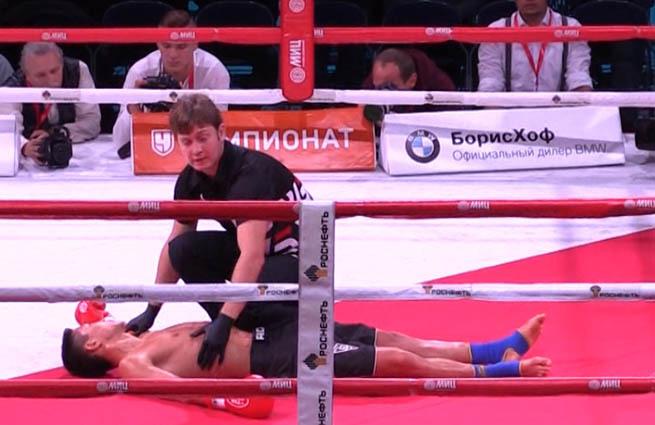 16-летний российский кикбоксер умер на ринге