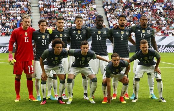 Сборная Германии пропустила три мяча в товарищеском матче