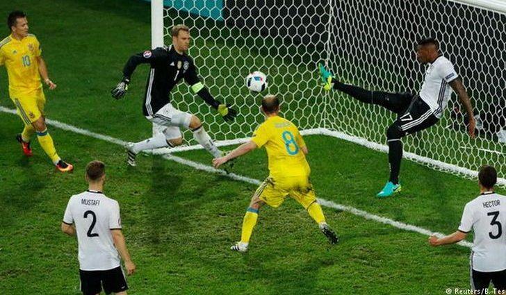 Евро-2016. Игроки сборной Германии проявили неуважение к Украине