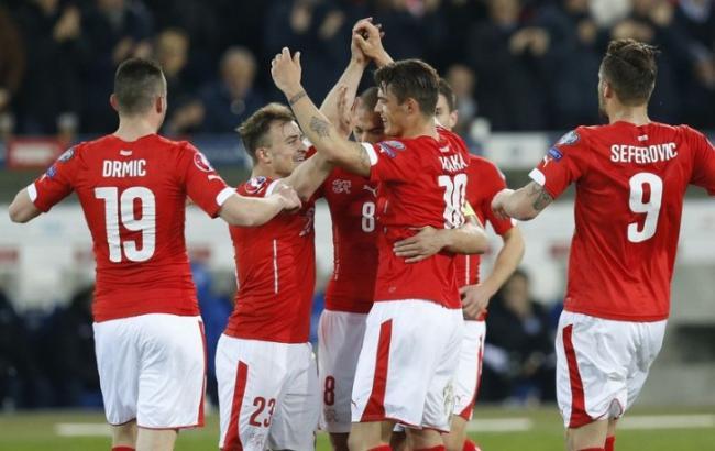 Евро-2016. Албания — Швейцария. итоги матча