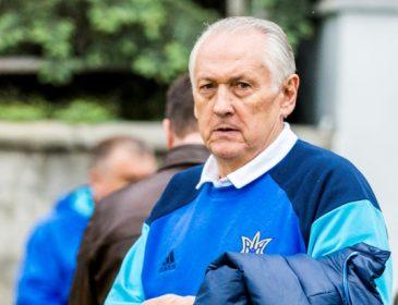 Сборная Украины осталась без главного тренера