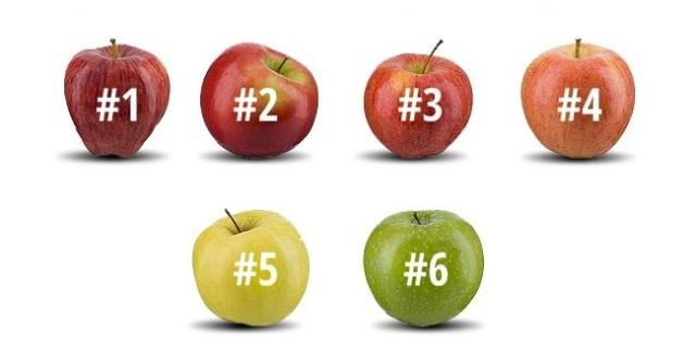Выберите яблоко, которое вы бы съели, и узнайте о себе кое-что интересное