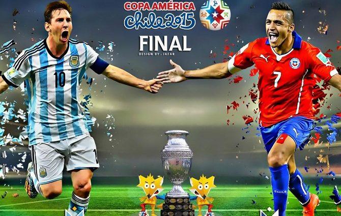 Чили уже во второй раз завоевала Кубок Америки