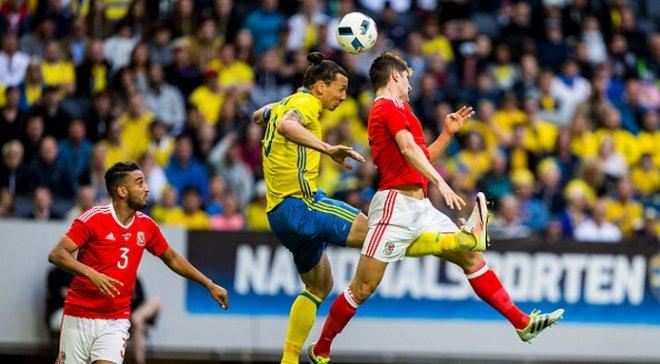Швеция неожиданно разгромила Уэльс с Бэйлом