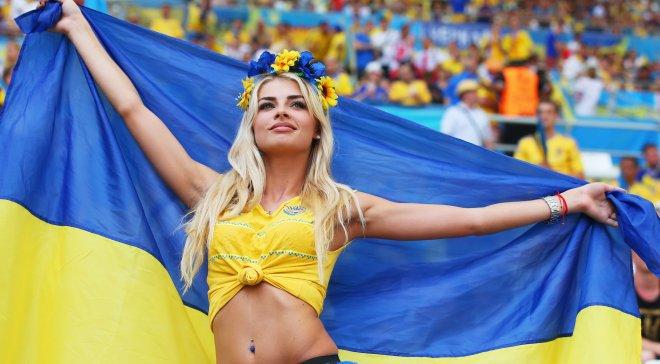 Украинка, которая заставит вас забыть о поражении на Евро-2016