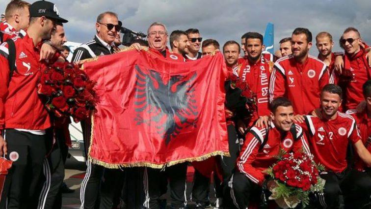 Албания представила своих игроков