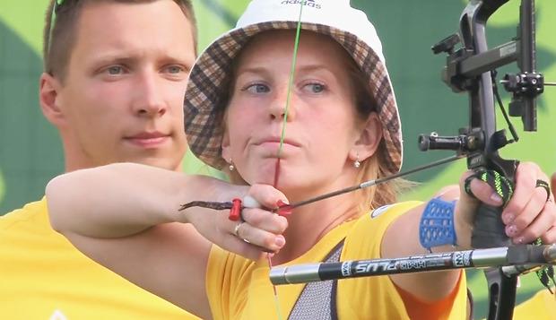 Украинская женская сборная по стрельбе из лука завоевала лицензию на Олимпиаду