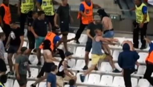 Российские болельщики избили испанских туристов в Кельне