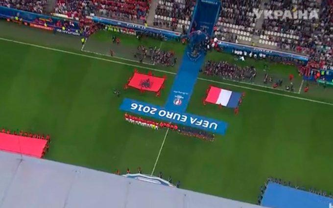 Евро-2016. Франция — Албания — 0: 0. Первый тайм.