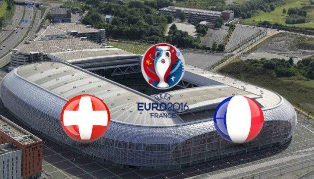 Евро-2016: Швейцария — Франция 0: 0, Румыния — Албания 0: 1. Первый тайм.