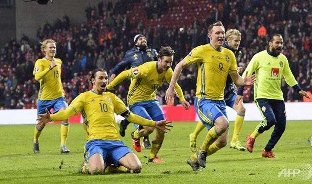 ЕВРО-2016. Ирландия и Швеция расходятся миром