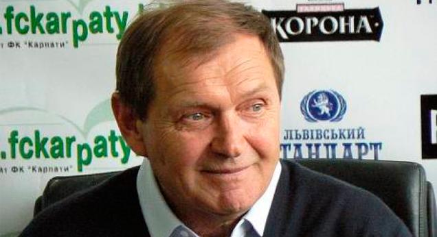 Тренером «Карпат» стал Валерий Яремченко