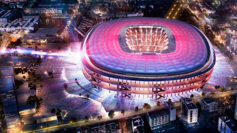 «Барселона» показала, насколько грандиозным будет «Камп Ноу» в 2021 году