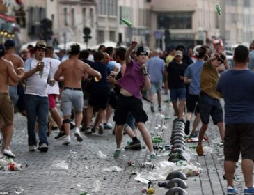 Немецкая полиция нашла фанатов, которые напали на украинских болельщиков