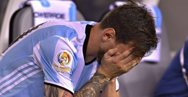 Месси добил плач сына после финала Копа Америка-2016