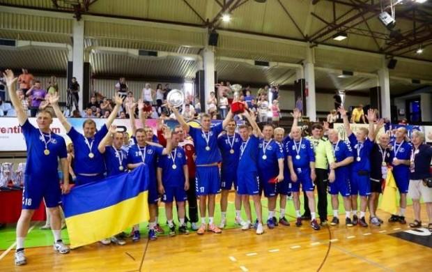 Одесские гандболисты – чемпионы Европы среди ветеранов!