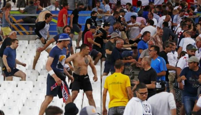 Стала известна причина побоища между фанатами России и Англии