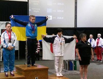 Cпортсменка из Дружковки стала чемпионкой мира