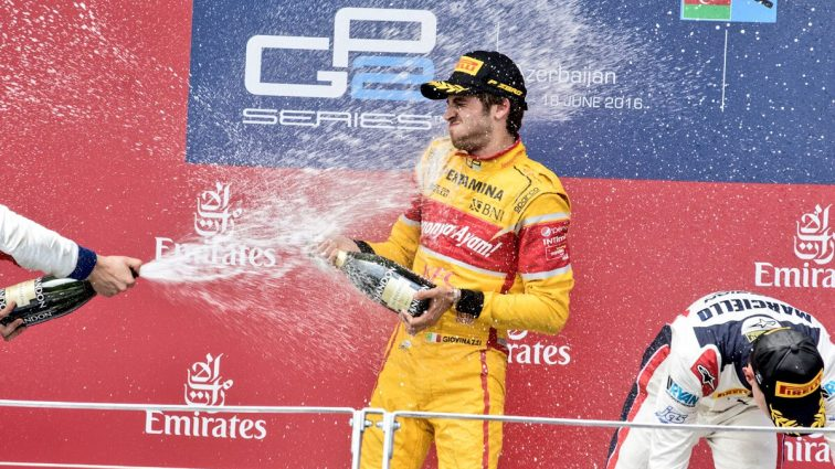 Аварии лидеров и дебютная победа Джовинацци. Итоги гонки GP2 в Баку