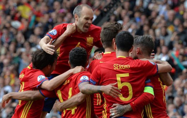 Евро-2016. Испания — Турция — 2: 0. Первый тайм.