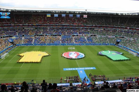 Евро-2016. Украина — Северная Ирландия — 0:2
