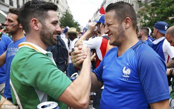 Евро-2016. Франция — Ирландия — 2:1