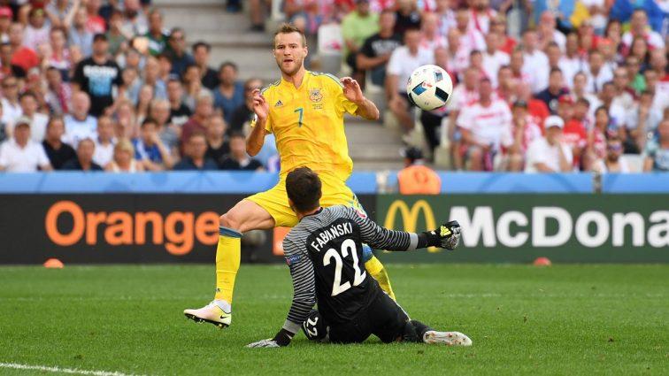 Евро-2016. Украина — Польша — 0: 0; П. Ирландия — Германия- 0: 1. первый тайм