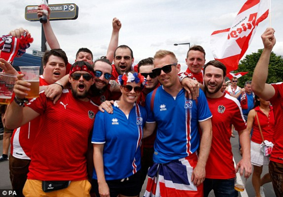 Евро-2016. Иcландия — Австрия — 2:1