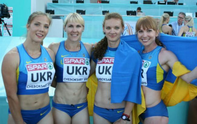 Женская сборная Украины по легкой атлетике победила на этапе в Бриллиантовой лиге