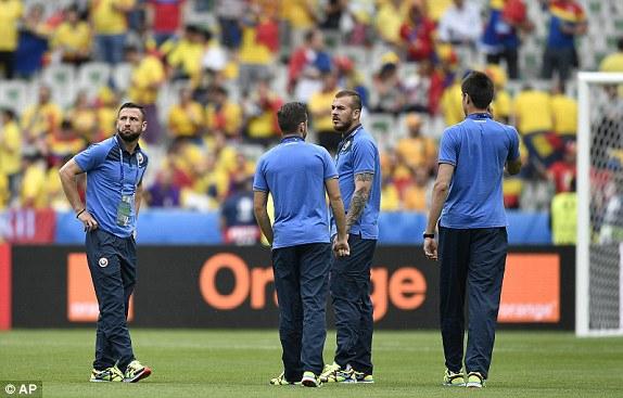 Евро-2016. Франция — Румыния — 0:0 (Второй тайм) LIVE