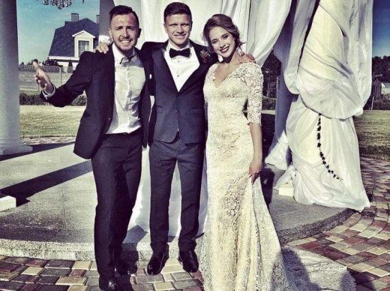 Легионер киевского «Динамо» женился на акробатке