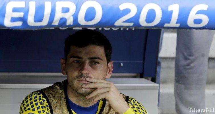 Касильяс словами Рэмбо намекнул об уходе со сборной Испании