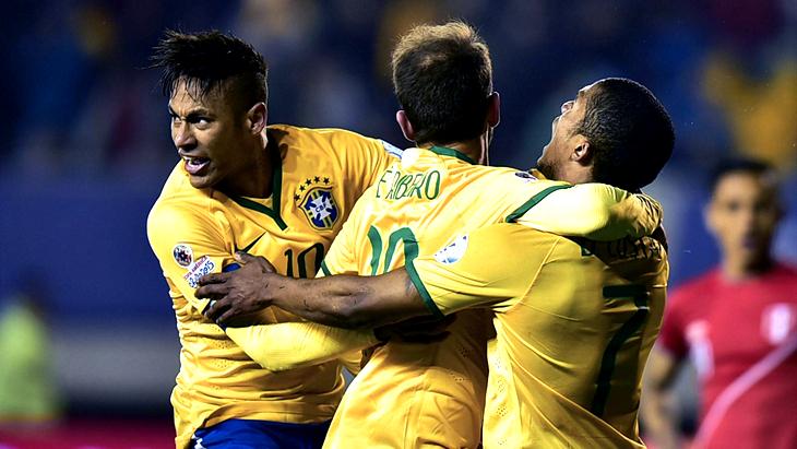 Кубок Америки 2016: Бразилия не смогла переиграть Эквадор