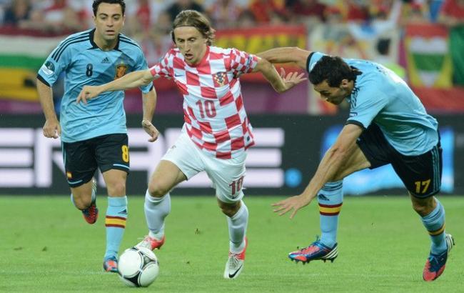 Хорватия — Испания: онлайн-трансляция матча Евро-2016