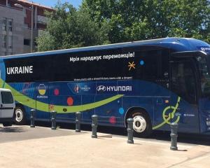 Евро 2016: сборная Украины ездит на автобусе за $ 200 тыс.