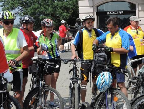 В Ужгороде начался международный велозбор