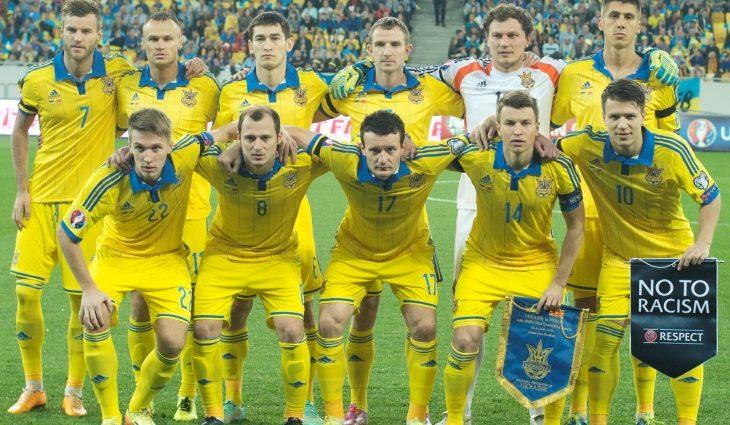 Игроки сборной Украины выбрали номера на Евро-2016