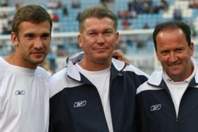 В Киеве предлагают установить памятник известным украинским футболистам