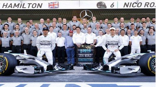 Mercedes признал, что нарушал правила в случае с Росбергом