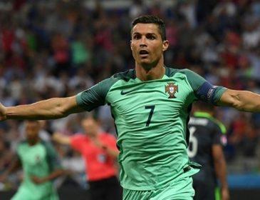 Роналду установил рекорд чемпионатов Европы по количеству матчей в полуфиналах